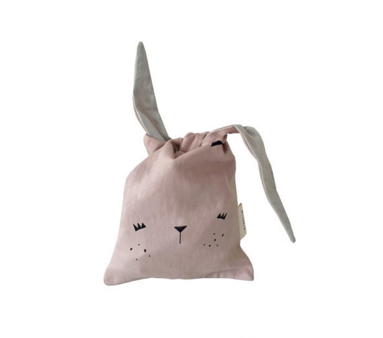 Förvaringspåse rosa – FABELAB –  Bunny Mauve