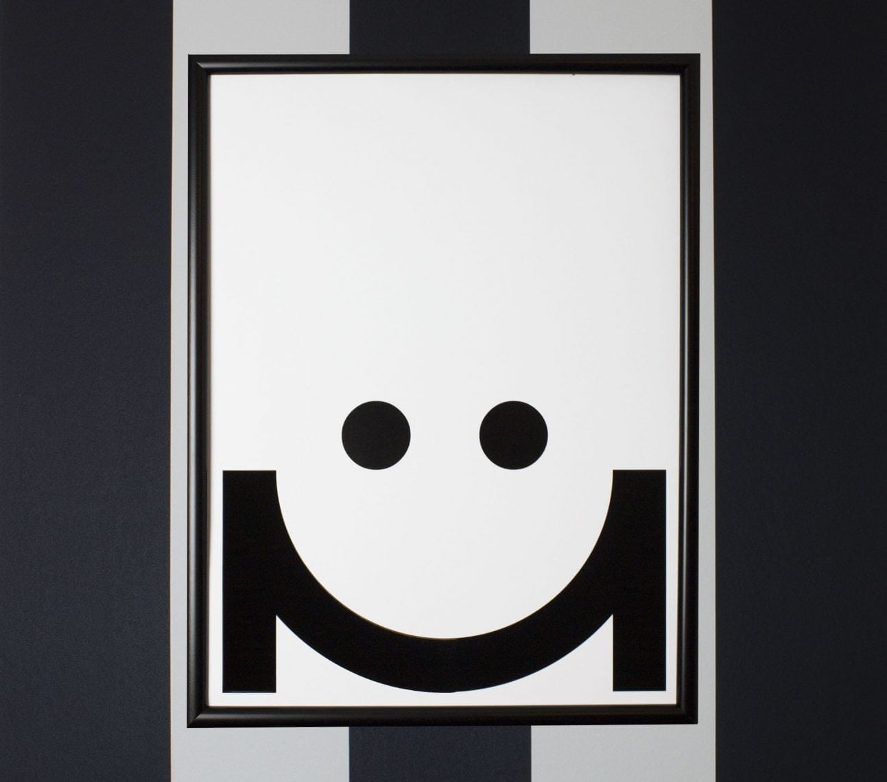 Poster moodie smiley – affisch barnrum