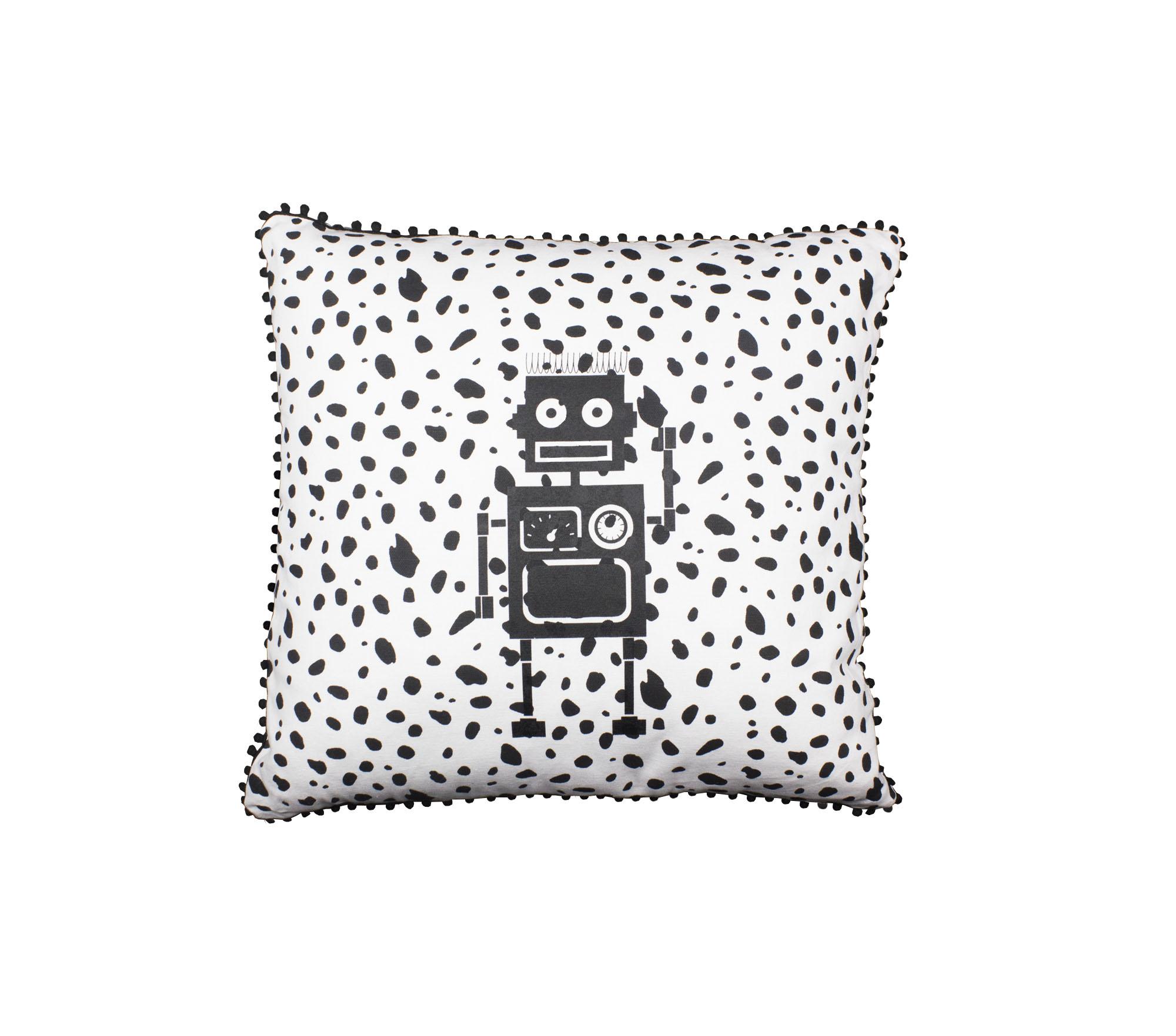 Kudde svart/vit dalmatin – Robot