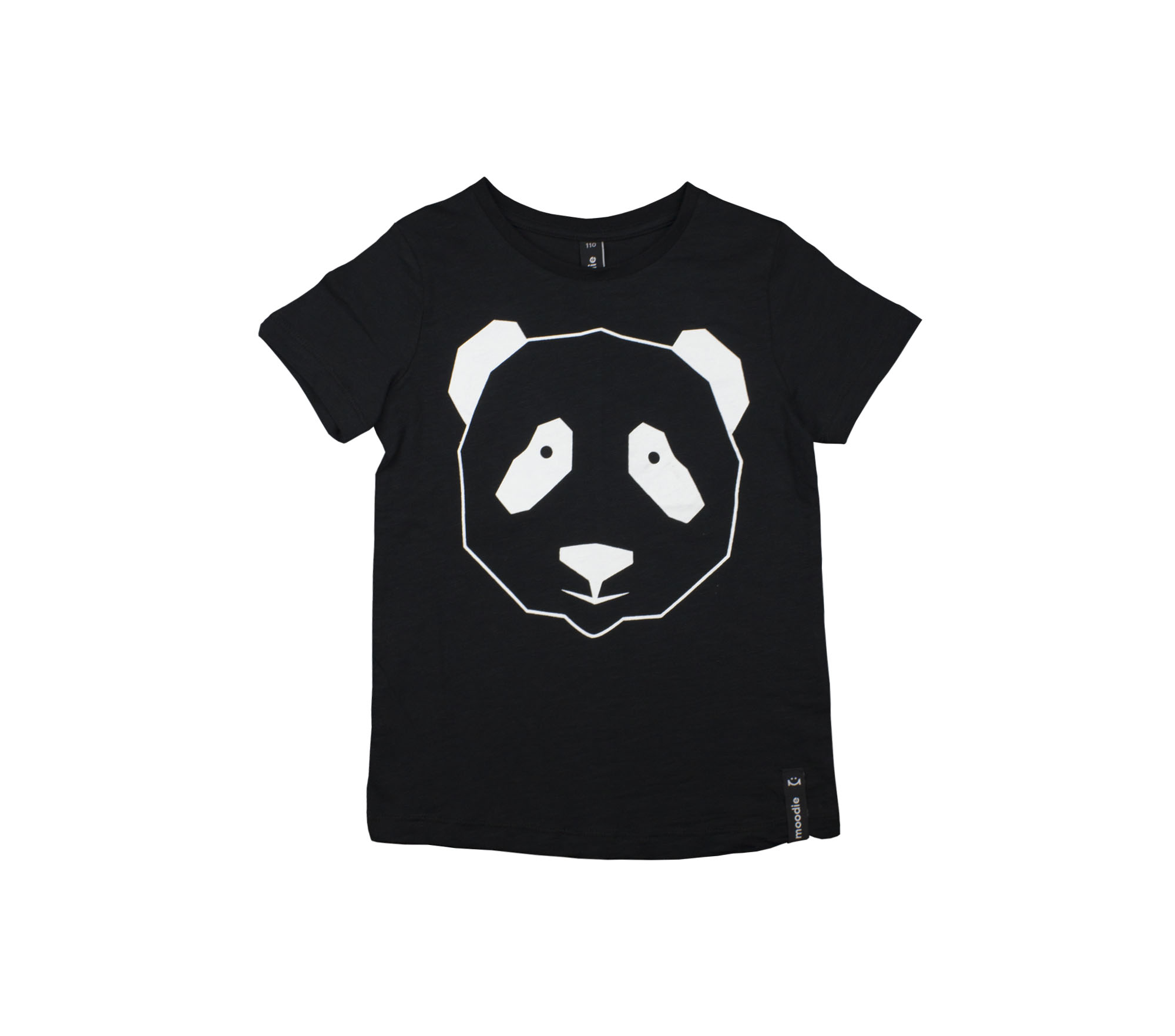 T-shirt barn svart panda- Monky