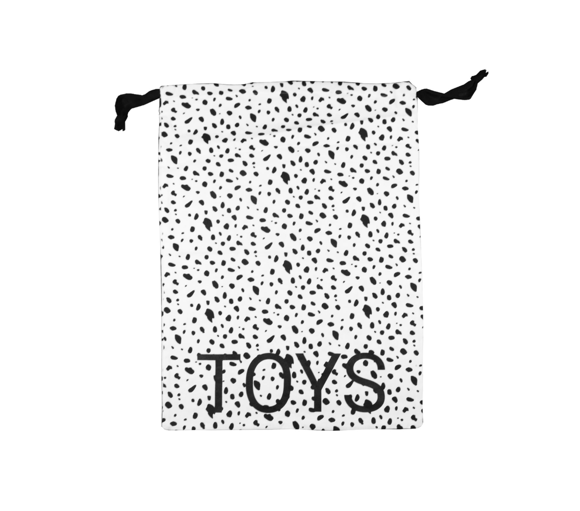 Stor påse svart/vit dalmatin – toys